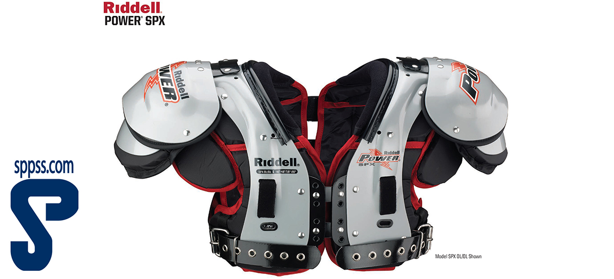 Riddell Power SPX American Football Shoulder Pads