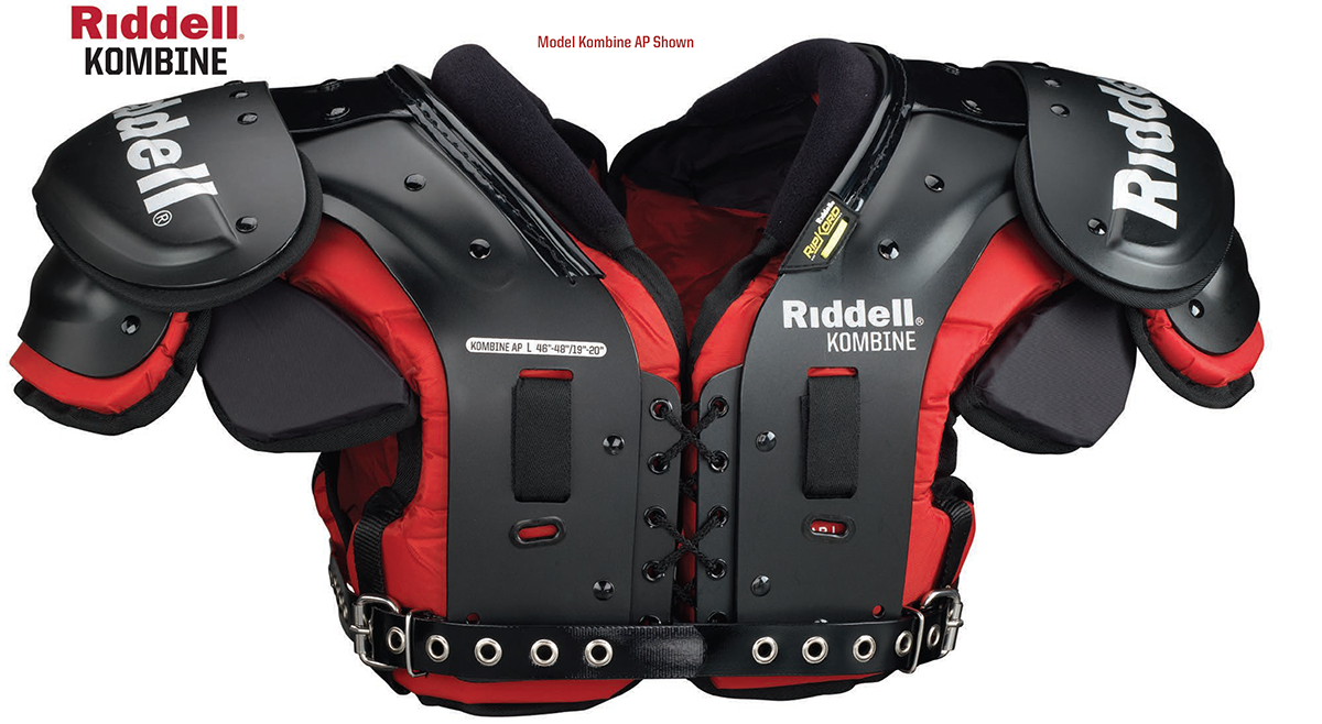 Riddell Kombine American Football Shoulder Pads
