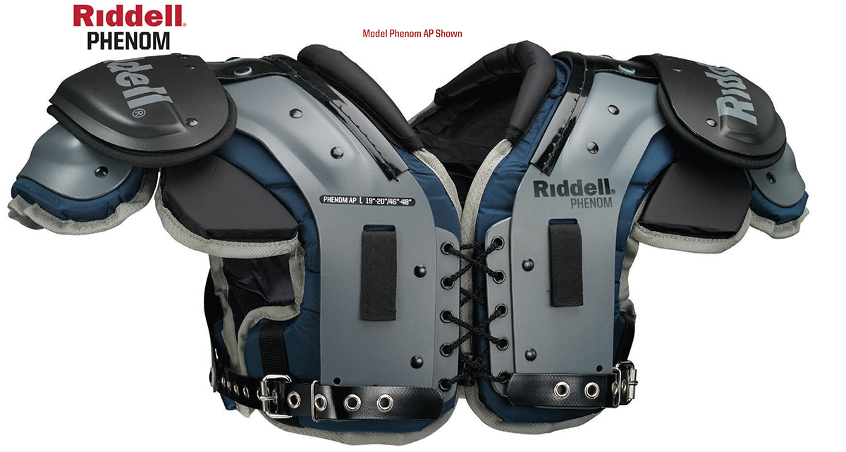 Riddell American Phenom Football Shoulder Pads
