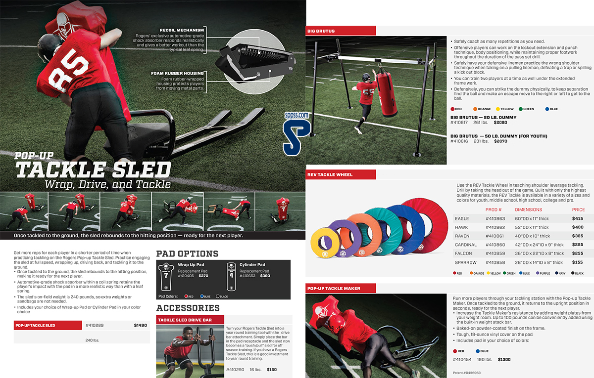 Tackle Sleds